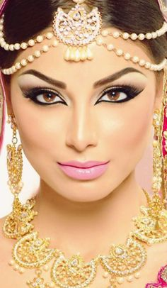 Arabic Bridal Makeup Tutorial With Steps & Pictures | BestStylo.com
