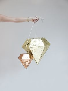 Diamond Piñata  more colors by ProspectGoods on Etsy