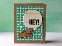 Card by SPARKS DT Clare Prezzia PS stamp set: Zoo Crew