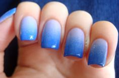 Globe & Nail: Pacific Blue & Lacey Lilac Gradient