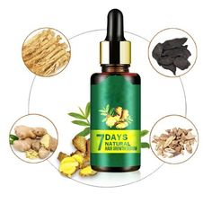 7 Days Ginger Essence Hairdressing Hairs Mask Hair Essential Oil Hair Care Oil Essential Oil Dry and Damaged Hairs Nutrition. Ginger Essential Oil, Essential Oils For Hair, Oil For Hair Loss, Anti Hair Loss, Hair Care Oil, Hair Oil, Ginger Hair Growth, Hair Growth Solution, Oils For Men