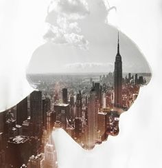 she dreamed of a city far away from here.