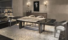 Dinning Table Design, Wood Table Design, Dining Table Chairs, A Table, Dining Room, Console Table, Calacatta Gold Marble, Marble Wood, Luxury Dining Tables