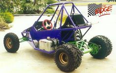 Edge Products Sidewinder off road buggy Go Kart Buggy, Off Road Buggy, Dirt Bike Girl, Girl Motorcycle, Motorcycle Quotes, Kart Cross, Build A Go Kart, Go Kart Plans, Atv Car