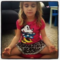 Teaching Children #Meditation & #Mindfulness