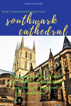 A synopsis of history on the oldest Gothic cathedral in London and take a peek inside of its magnificent architecture via @GGeorgina_mytimelessfootsteps/