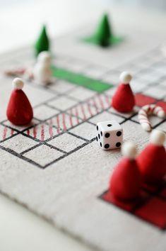 DIY Christmas Board Game | Santa ärgere dich nicht | Motte's Blog