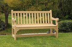 Our Colonial garden bench. A traditional and timeless design.