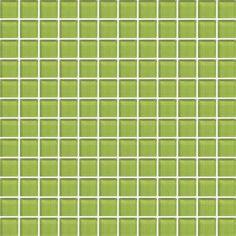 Daltile Series Color Wave Lime Glow Cw33 Gl Mosaic Tiles