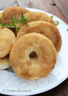 Romanian Food, Romanian Recipes, Pastry And Bakery, Pretzel, Donuts, Sweet Tooth, Sweets, Bread, Desserts