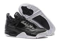 "quality design f42f9 e7586 2016 Air Jordans 4 Retro Premium ""Black"" Black Black-Sail Super Deals  E2EaxT, Price   91.00 - Reebok Shoes,Reebok Classic,Reebok Mens Shoes"