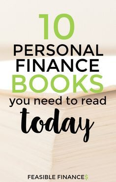 Ready to set yourself up for financial success? Looking for something that will teach you how to get out of debt, start saving money, or make some big investments? Check out these personal finance books.