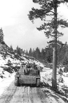 "Column of StuGs from 7.SS-Freiwilligen Gebirgs Division ""Prinz Eugen"", Yugoslavia, September 1944"
