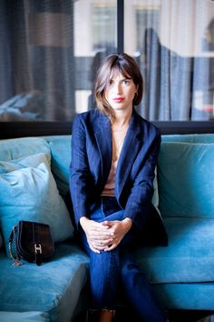 "Jeanne Damas is the Epitome of ""French Girl Cool"""