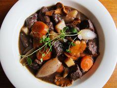 Älg gryta (moose stew)