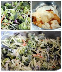 forever88: broccoli slaw recipe...