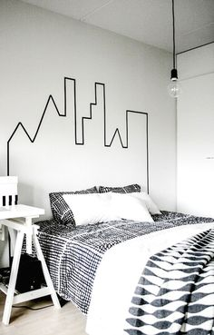 Are you wanting to decorate a boys room? I am sharing 20 Teenage Boy Room Decor Ideas today! They are super fun and easy. Diy Washi Tape Home Decor, Washi Tape Wall, Washi Tapes, Washi Tape Headboard, Boys Room Decor, Boy Room, Rooms Decoration, Wall Decorations, Art Decor