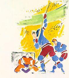 Shot on Goal by Neiman, LeRoy   Atkinson Fine Art