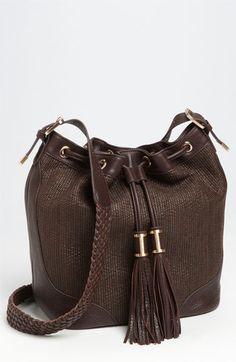 Rachel Zoe 'Joni' Bucket Bag Brandy