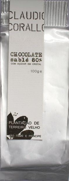 Claudio Corallo Chocolate sablé 80%