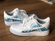 Behind The Scenes By yaskarakaya Custom Vans, Custom Sneakers, Custom Shoes, Air Force One Shoes, Nike Air Force, Nike Air Shoes, Sneakers Nike, Rick Y Morty, Nike Af1