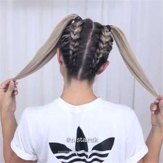 Top 60 All the Rage Looks with Long Box Braids - Hairstyles Trends Braided Ponytail Hairstyles, Fast Hairstyles, Box Braids Hairstyles, Trending Hairstyles, Girl Hairstyles, Hairstyle Ideas, Hairstyles 2018, Teenage Hairstyles, Updo Hairstyle