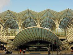 Stazione ferroviaria Disegnata da Arch. Calatrava