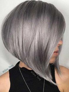 These Days Most Popular Short Grey Hair Ideas // #Days #Grey #Hair #Ideas #Most #Popular #Short #These