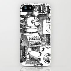 DINNER TIME iPhone & iPod Case by Chicca Besso - $35.00
