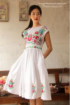 batik amarillis's hey day 3 dress