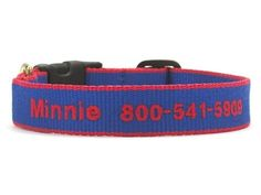 Bamboo Royal Blue and Red Dog Collar - BeauJax Boutique Beautiful plain or monogrammed, this Earth friendly bamboo collar is made right here in the U.S.A. just for your fur baby! It's soft, comfortable and strong, and has an easy wear style. www.beaujax.com Cute Dog Collars, Cat Collars, Monogrammed Beach Towels, Personalized Dog Collars, Christmas Shopping, Christmas Gifts, Red Dog, Easy Wear, Dog Gifts