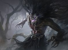 ArtStation - Dread Shade, G-host Lee High Fantasy, Fantasy Rpg, Dark Fantasy Art, Dark Art, Fantasy Male, Creature Concept Art, Creature Design, Magic The Gathering Sets, Mtg Art