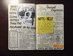 Captivating Drawing On Creativity Ideas - Sketch Book ριитєяєѕт J E N N . Wreck This Journal, Journal Diary, Bullet Journal Ideas Pages, Bullet Journal Inspiration, Art Journal Pages, Art Journal Challenge, Sketch Journal, Art Journals, Kunstjournal Inspiration