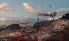 Wadim Kashin is an artist based in Moscow who has worked in both games and…