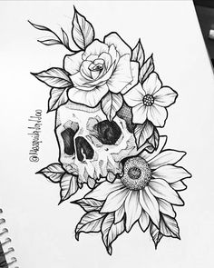 Skull Tattoo Design, Tattoo Design Drawings, Tattoo Sketches, Tattoo Designs, Lioness Tattoo Design, Tattoo Ideas, Dope Tattoos, Body Art Tattoos, Sleeve Tattoos