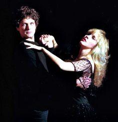 Stevie Nicks and Lindsay Buckingham.  Still one of my favorite couples.