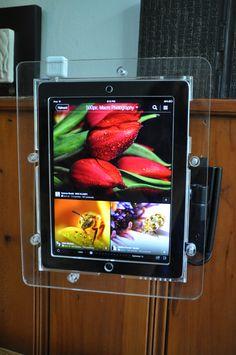 iPad VESA Mount Enclosure Vesa Mount, Pos, Branding, Display, Design, Floor Space, Brand Management, Billboard