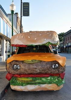 Whatthecool - Hamburger Car