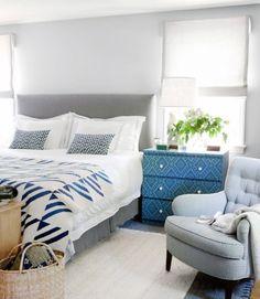 Simple Yet Elegant: Blue Bedroom Walls