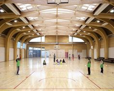 Image 14 of 19 from gallery of Gymnasium Régis Racine / Atelier d'Architecture Alexandre Dreyssé. Photograph by Clément Guillaume