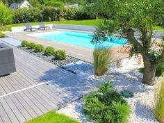 The spirit pool designed pool - 9... 4 m white trim esca...