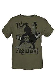 RISE AGAINST SILENCE T-SHIRT