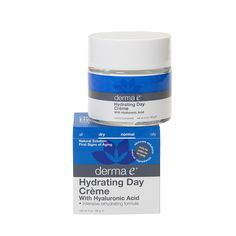 Derma e® Hydrating Day Crème with Hyaluronic Acid. This stuff is amazing! All great cruelty-free natural skincare line with lots of products to choose from.