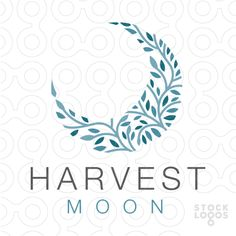 floral pattern vines harvest moon