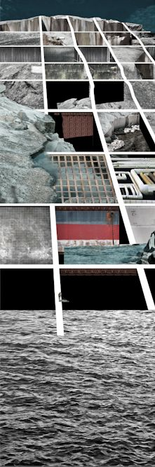 Architecture Collage, Architecture Visualization, Architecture Drawings, Landscape Architecture, Architecture Design, Design Studio, Art Design, Urban Design, Image Collage