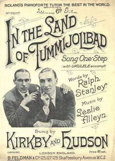 IN THE LAND OF TUMMIJOLIBAD - ONE-STEP - KIRBY & HUDSON - LESLIE ALLEYN - 1925