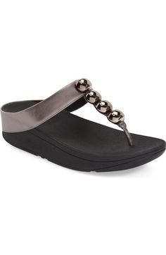 f85ad7abd5ff2 Fitflop  Rola  Sandal (Women) available at  Nordstrom Low Wedges