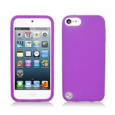 Apple iPod Touch 5 (5th Generation) Silicone Skin Case, Purple:Amazon:MP3 Players & Accessories