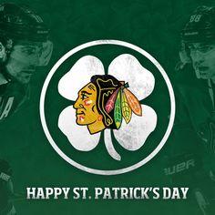 #Blackhawks Happy St. Patrick's Day