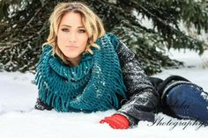 Pictures in the snow  winter pictures  winter senior pictures